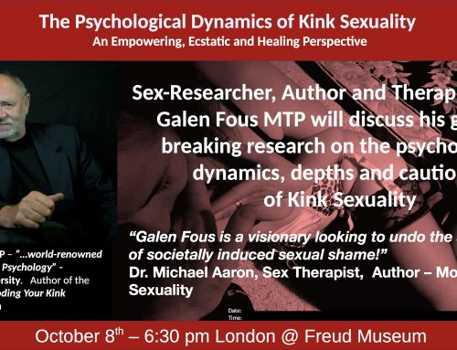 Erotic Archetypes, Symbols & Mythic Stories – The Psychological Dynamics of Kink Sexuality Lecture