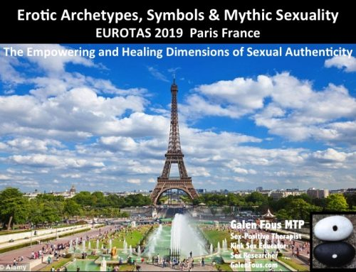 Erotic Archetypes, Symbols & Mythic Sexuality – Lecture Presentation for EUROTAS 2019
