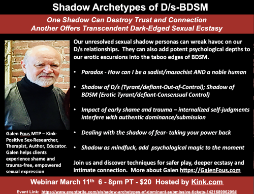 Shadow Archetypes of D/s and BDSM